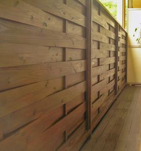 ウッドフェンス,エクステリア,外構,木工専門工房